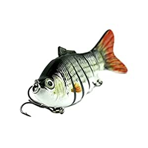 TOOGOO(R) 1pcs 100mm/18g Luya bait Lure Soft Bait with Hook ,fly fishing games reels fishing lures fishing reels fishing supplies best bass lures Black and white