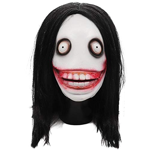 duhe189014 Creepy Killer Erwachsenenmaske Standard, Jeff Killer Kinder Monster City Legend - Halloween City Kostüm Kinder