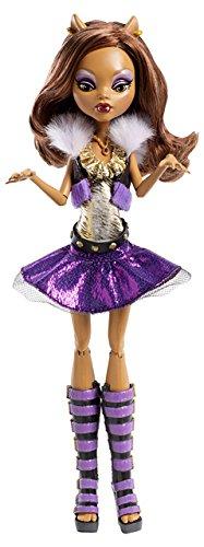 Mattel Monster High Y0422 - Monsterspaß Alive Clawdeen Wolf, Puppe mit Licht- und Soundeffekten