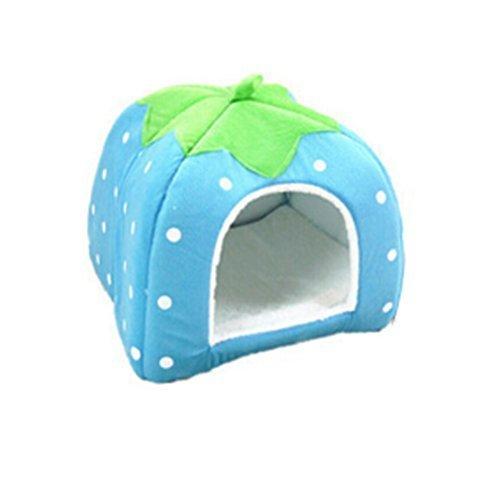 Da.Wa Funcional Perrera Gato de la Casa para Mascotas Marca Camas para Gatos Cachorro de Perro Bolsas de de Animales para Dormir-S