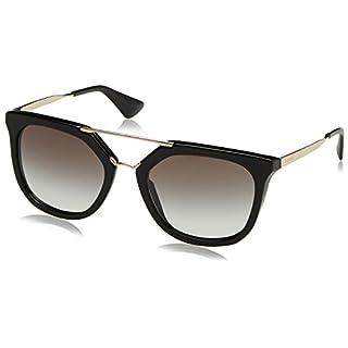 Prada Damen Sonnenbrille 0PR12US KNG4O0, Braun (Beige/Brown Chiaro/Brown Silver), 65