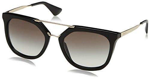 84beec9668 Prada 0PR13QS 1AB0A7 54, Gafas de Sol Unisex-Adulto, Negro (Black/