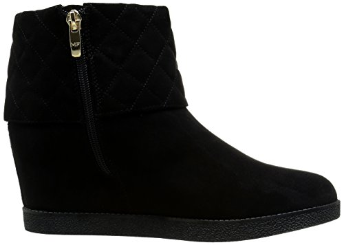 Marc Fisher Carolann2 Rund Faux Wildleder Mode-Stiefeletten Black