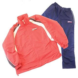 all4you-sportswear Microfibre Tracksuit Red/Blue Size XXL