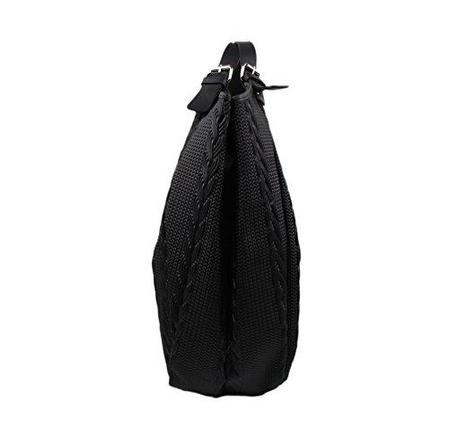 dcffc27a72470 ... SLINGBAG II Simone XL Shopper   Schultertasche   Beuteltasche aus hochwertigem  Leder mit Flechtoptik   FARBAUSWAHL ...