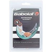 Babolat Strong Wrist Protección Tenista de Tenis, Unisex Adulto, Blanco/White, Talla Única