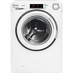 Candy HGS 1310TH3Q/1-S Autonome Charge avant 10kg 1300tr/min A+++ Blanc machine à laver - Machines à laver (Autonome, Charge avant, Blanc, Rotatif, Toucher, Gauche, Acier inoxydable)