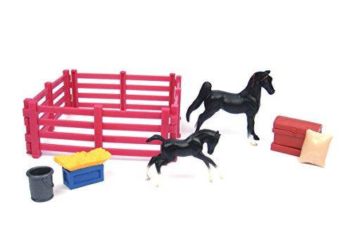 breyer-5414-figurine-animal-cheval-poulain-et-accessoires