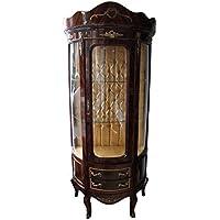 Comparador de precios Casa-Padrino Baroque Showcase Model Mahogany Brown - Display Cabinet - Cupboard - precios baratos