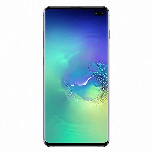 "Samsung Galaxy S10+ - Smartphone de 6.4"" QHD+ Curved Dynamic AMOLED, 16 MP, Exynos 9820, Wireless & Fast & Reverse Charging, 128 GB, Prisma Verde (Prism Green)"