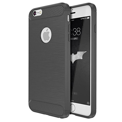 Custodia Armor con Copertura Morbida di Silicone case cover per iPhone SE / 5S / 5 (red) gray