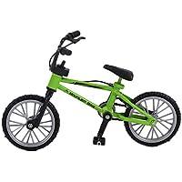 De tamaño mini simulación dedo de la aleación de bicicletas Los niños Kid Funnt Mini dedo juguete de la bici con la cuerda de freno mejor regalo de cumpleaños