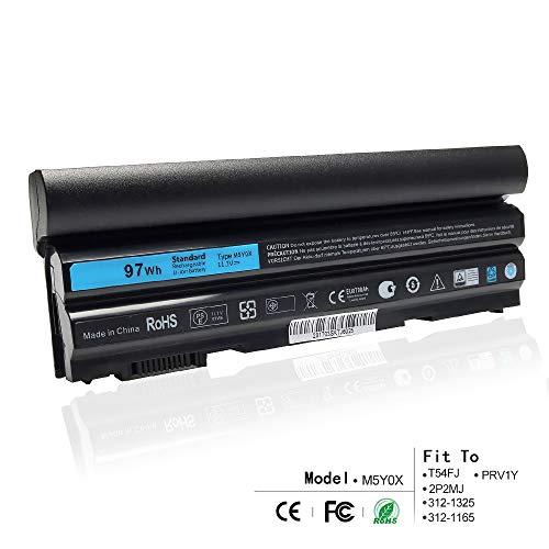 K KYUER 9-Cell 97WH M5Y0X Laptop Akku für Dell Latitude E6420 E6430 P25G001 E6520 P14F001 E6530 E5420 E5520 E5430 E5530 P28G-001 E6440 E6540 P29F001 Vostro 3460 3560 Precision M2800 71R31 N3X1D T54FJ