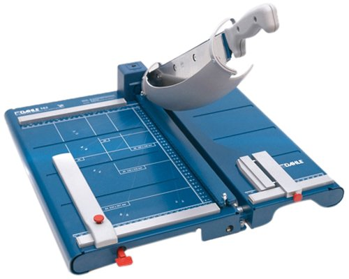 Dahle 562 Schneidemaschine (Bis DIN A4, 35 Blatt Schneidleistung) blau