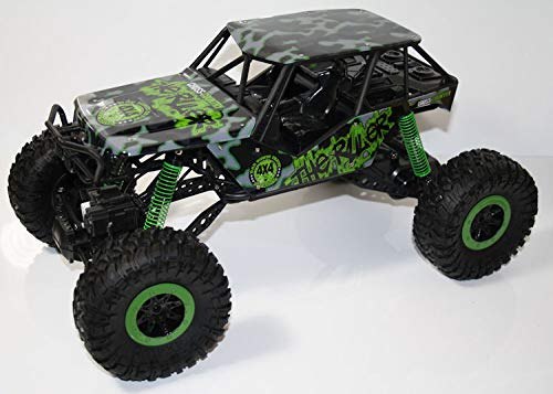 Unbekannt RC 2,4 Ghz Rock Crawler The Beast 4WD Allrad ferngesteuertes Auto Fast 1/2 Meter lang (Ferngesteuertes Auto Fast 30)