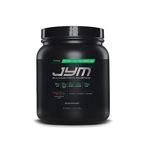 JYM Supplement Science Pre Strawberry Kiwi Supplement, Pack of 30