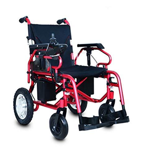 BEN-YI Elektrischer Rollstuhl Leichter faltender Rollstuhl Vierrad Elektrofahrzeug Balance Elektrofahrzeug Senioren Roller -654Transportrollstühle