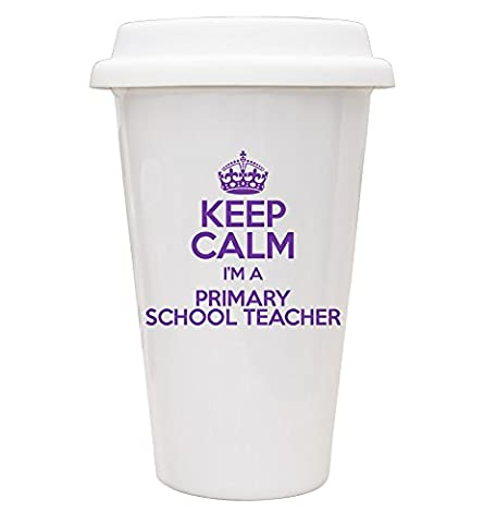 PURPLE Keep Calm I'm a Primary School Teacher ECO Travel
