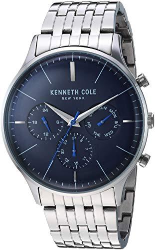 New Uhr Cole Kenneth Edelstahl Kc50586004 York Herren Armbanduhr n0Nvwm8