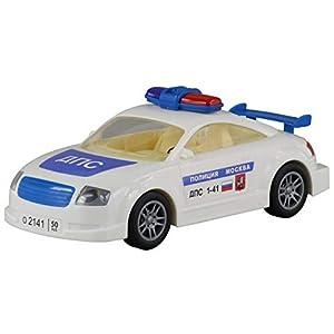 Polesie Polesie37039 - Juguete de inercia para Coche, diseño de policía de tráfico de Moscú