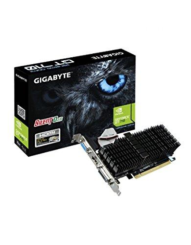 Gigabyte GT710 Scheda Grafica da 2 GB, VGA, Nero