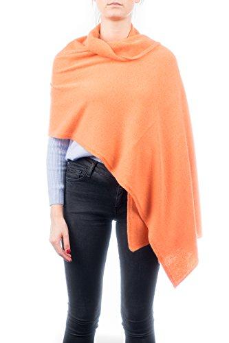 DALLE PIANE CASHMERE - Stola aus 100% Kaschmir - für Frau, Farbe: Orange, Einheitsgröße -