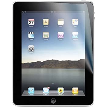 TRIXES Clear LCD Screen Cover Protector for Apple iPad 2, iPad 3 & iPad 4