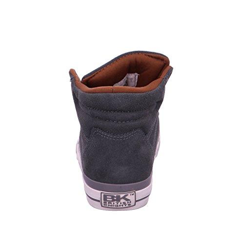 BK - Dee B36-3708-01 Grey-Cogna Damen Herren Sneaker Schuhe Skate Grau