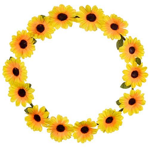 LUX Zubehör Sonnenblume Blumen gelb Head Hair ()