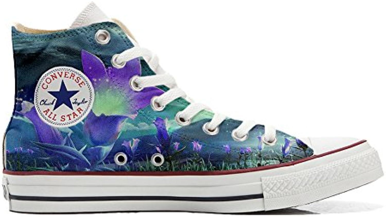 Converse All Star Customized - Zapatos Personalizados (Producto Artesano) Fiori Fantasy  -