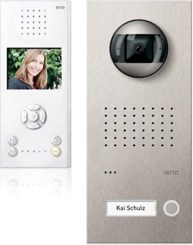 Ritto RGE1819525 Door Station Intercom Video Set
