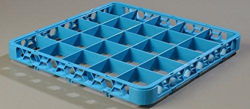 Glaskorb / Spülkorb Aufsatz mit Fachteilung, 25 Fächer | Außenhöhe: 4,2 cm / Innenhöhe 3,99 cm