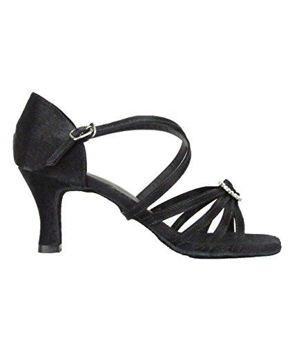 So Danca BL130 Scarpe da ballo da Donna per danza latino Salsa Rumba Tango tacco 6,4 cm Nero