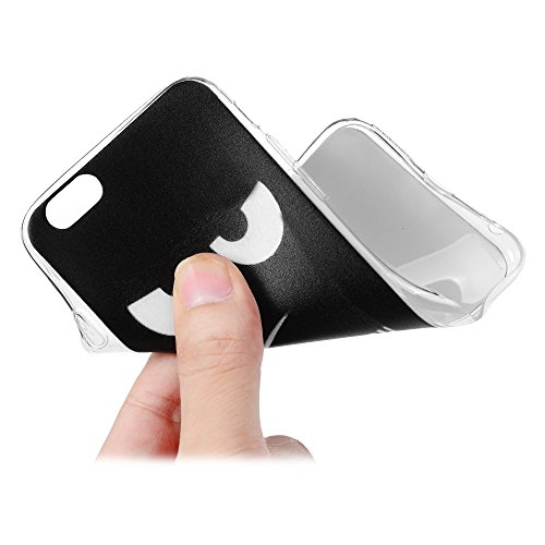 Lanveni Handyhülle für iPhone 6 / iPhone 6S Hülle×3, Handytasche Etui Protective Case Cover TPU Silikon Schutzhülle TPU-Bumper Weiche Silikon Case mit Bunte Cover Design (Farbe 6) Farbe 3