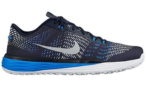 Nike Lunar Caldra, Scarpe da Fitness Uomo Ossidiana / Bianco / Blu (Obsidian / White-Rcr Blue-Pht Bl)