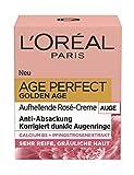 Die besten L'Oreal Anti-Aging-Augenringe - L'Oréal Paris Perfect Golden Age Rosé Augenpflege, mit Bewertungen