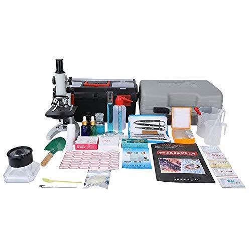 Labor Biologischer Grund Experimentelle Ausrüstung Geräte Box, 640 mal Mikroskop Der volle Spektrum der Appliance Glas Utensil Hochschule Home Lehre Supplies Utensil Kit