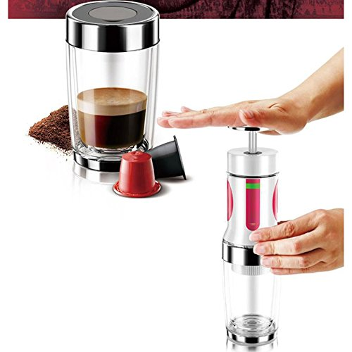 Macchina Da Caffè Con Cialde,Macchina Per Caffè Espresso Portatile ...