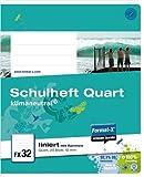 Format-X 073821 10 Schulheft FX32, liniert, weiß