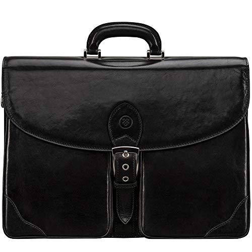 Maxwell Scott Bags® Herren Leder Businesstasche