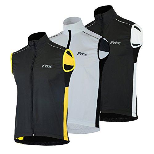 FDX -  Gilet sportivo  - Uomo Black/yellow
