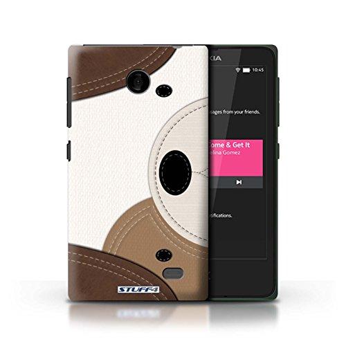 Kobalt® Imprimé Etui / Coque pour Nokia X / Requin conception / Série Cousu des Animaux Effet Chien