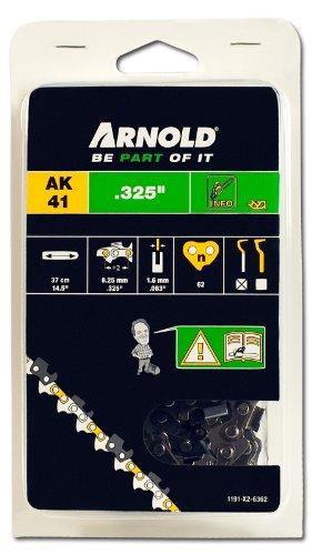 Arnold 1191-X2-6362 Sägekette .325 Zoll, 1.6 mm, 62 Treibglieder, 37 cm Schwert