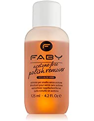 FABY Nagellackentferner, acetonfrei, 125 ml