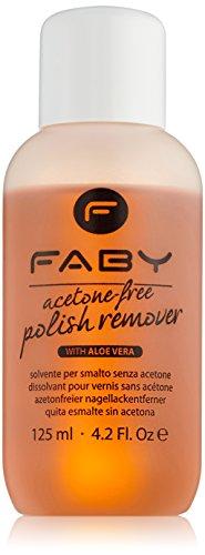 Faby Dissolvant sans acétone 125 ml