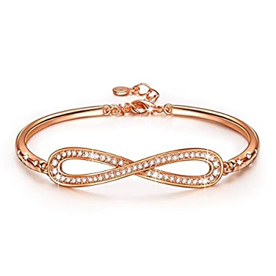 LADY COLOUR - Infinity - Bracelet for Women with Crystals from Swarovski - PARIS VOGUE collections