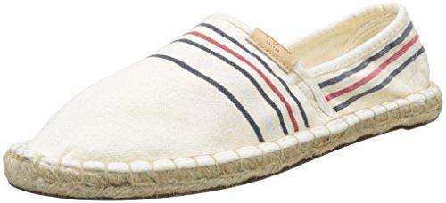 Pepe Jeans Herren Samoa Linen Espadrilles Beige (Beige)