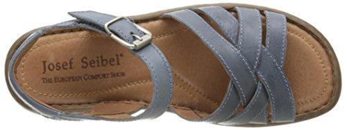 Josef Seibel Debra 23, Sandales Femme Bleu (62 830 Jeans)