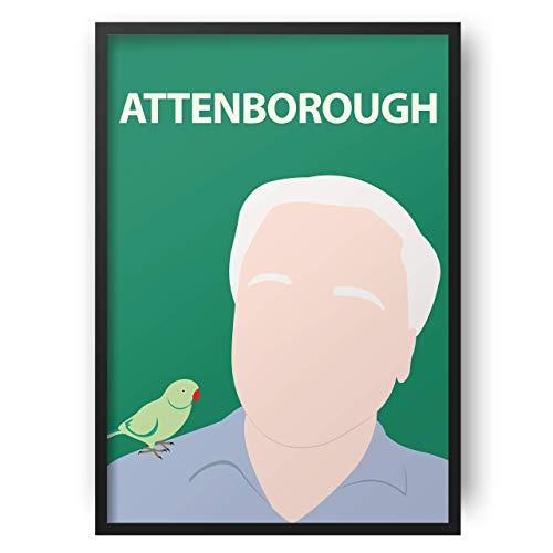 David Attenborough Poster drucken - Planet Erde - Dokumentarfilm - Natur - Umweltschützer - Blue Planet 2