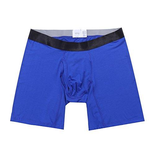 Herren Boxershort Modal Unterhosen/Royal Blue/Big & Tall 4XL (132-137 cm) - Big And Tall Boxer Briefs